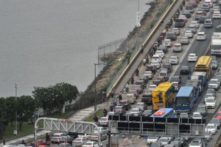 Singaporeans make up the largest proportion of foreign traffic offenders in Johor between 2010 and last year.