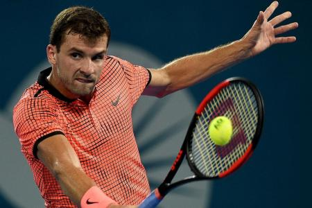 Dimitrov stuns Nishikori to win first title in over two years