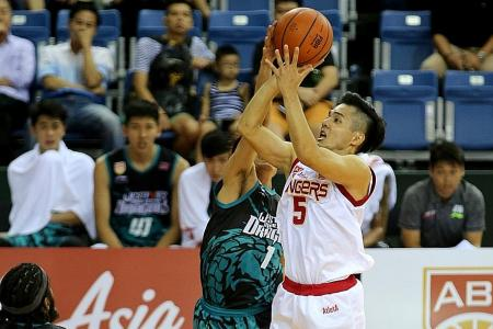 Singapore Slingers' Wong Wei Long emerges as the unlikely hero.