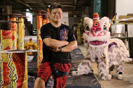 Lion dance is not a lion's den