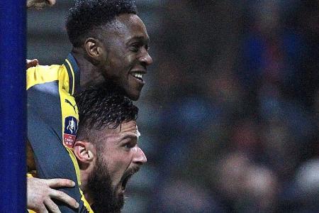 Arsenal sneak past Preston to advance in FA Cup