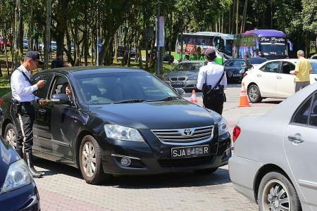 Johor blitz targets S'pore motorists with unpaid fines