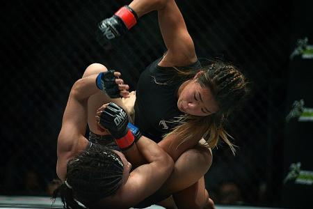 Lee nominated for MMA Female Fighter of the Year