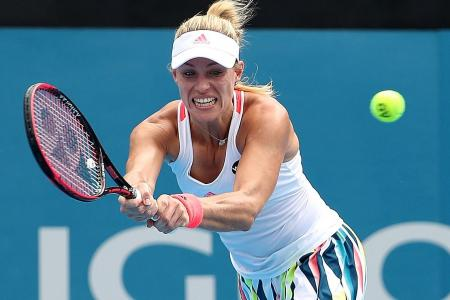 Too slow for success for Angelique Kerber