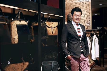 Economics graduate makes his fashion fantasy come true