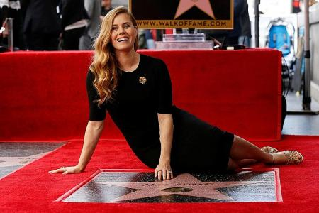 Amy Adams on Hollywood Walk of Fame for role in Arrival