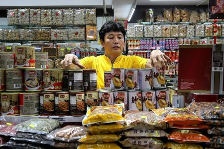 Sellers worry about high cost price of CNY food