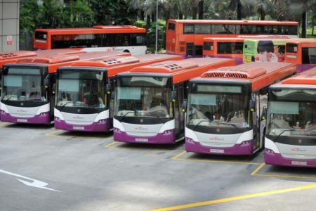 More Singaporeans becoming bus drivers