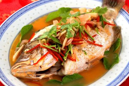 Hed Chef: Auspicious steamed snapper dish for CNY