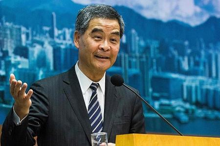HK leader: No room for independence