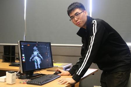 Computer crash did not stop him
