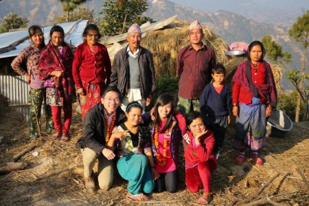 Singaporean undergrads build farms for students in Nepal