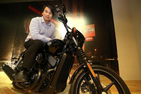 He wins Harley with daughter's help