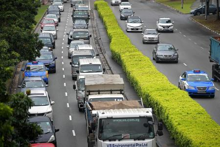 Vehicle numbers drop for 3rd year in a row
