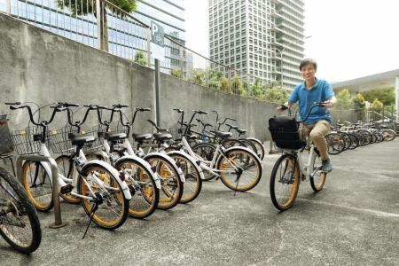 New bicycle sharing scheme launched