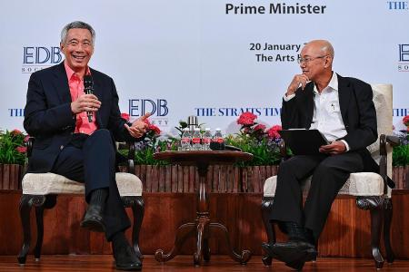 PM Lee: Take risks or go nowhere