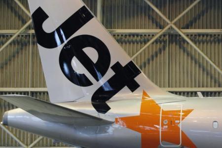 Phuket-bound Jetstar plane turns back to Singapore due to ventilation issue