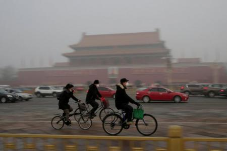 Lawyers sue Chinese government for air pollution