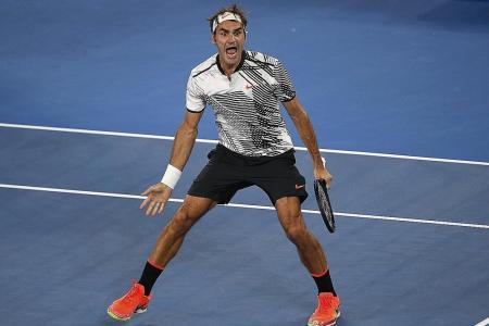 Iron-man Federer