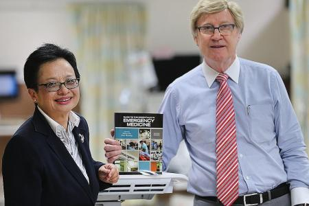 Book on saving lives by NUH doctors an unexpected hit