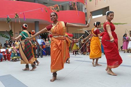 Celebrating Pongal in Punggol