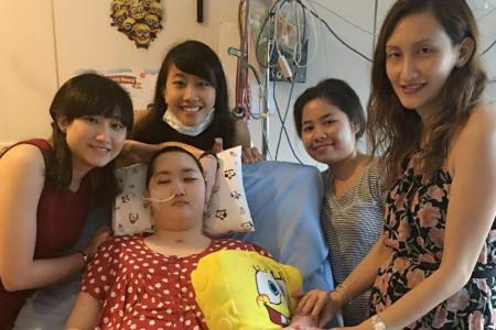 Teen had cancer, then suffers blood clot in brain