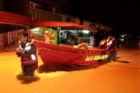 Nearly all M'sian states hit by floods