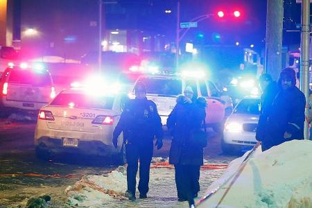 6 killed, 8 hurt in shooting at Quebec City mosque