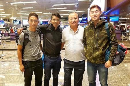 Quak, Shawal begin trial with J2 League side