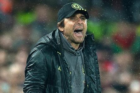 Conte turns attention to finish line