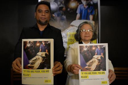 Philippine police paid to kill drug suspects: Report