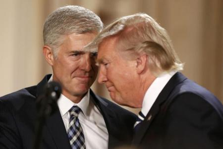 Trump's Supreme Court nominee faces battle