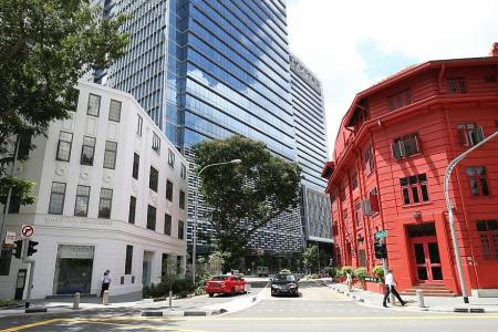 Colour change for iconic building a return to roots