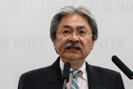 HK Chief Executive contender unveils election platform