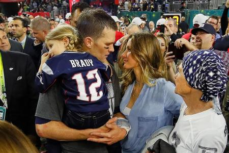 Tom Brady thanks family for support after Super Bowl win