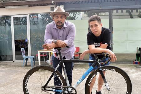 HolyCrit's Sports Hub bike race a world's first