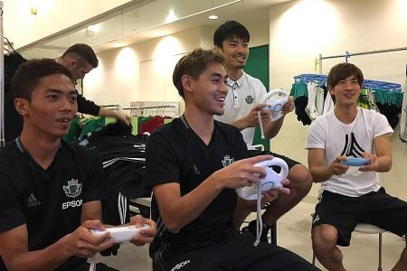 Geylang wingers good enough for Japanese third tier