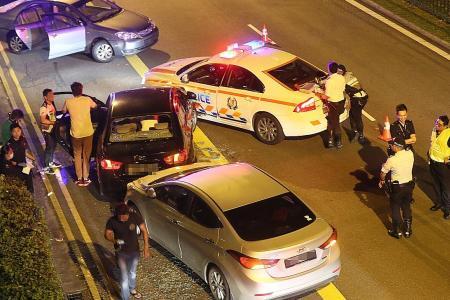 Suspected drug trafficker arrested after dramatic car chase