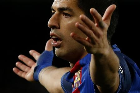 Suarez to miss final