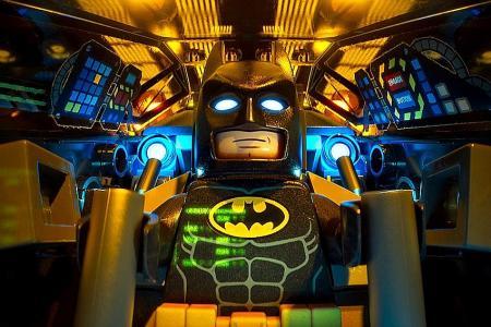 He's happy going batty for Batman