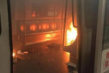 Man, 60, arrested for Hong Kong train attack