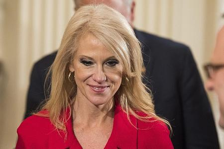 Conway under fire for promoting Ivanka's brand
