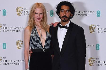 Stars twinkle on British Academy of Film & TV Arts awards red carpet