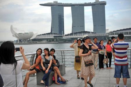 Singapore sees tourism boom