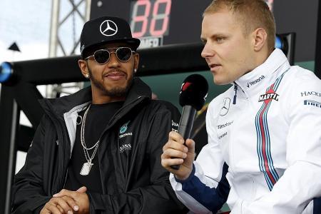 Rosberg warns Bottas about Hamilton rivalry