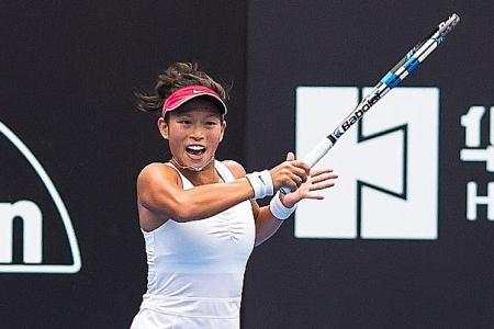 'No substitute for dedication and hard work on tennis circuit'