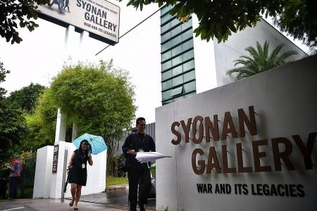 Signage of war gallery completed to reflect full name