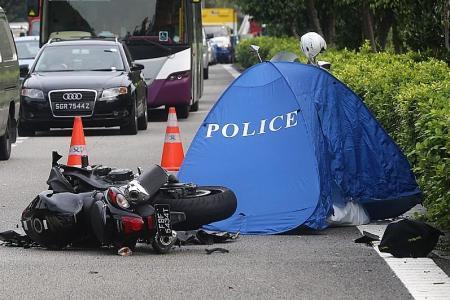 Fewer bike fatalities last year