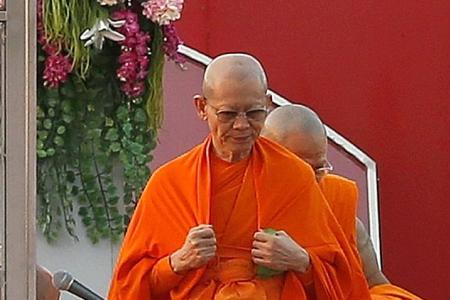 Elusive Thai monk said to be hiding in underground maze