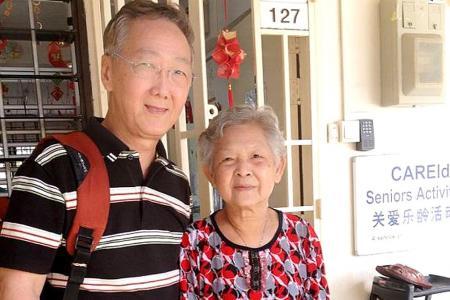 He has helped needy elderly for 30 years